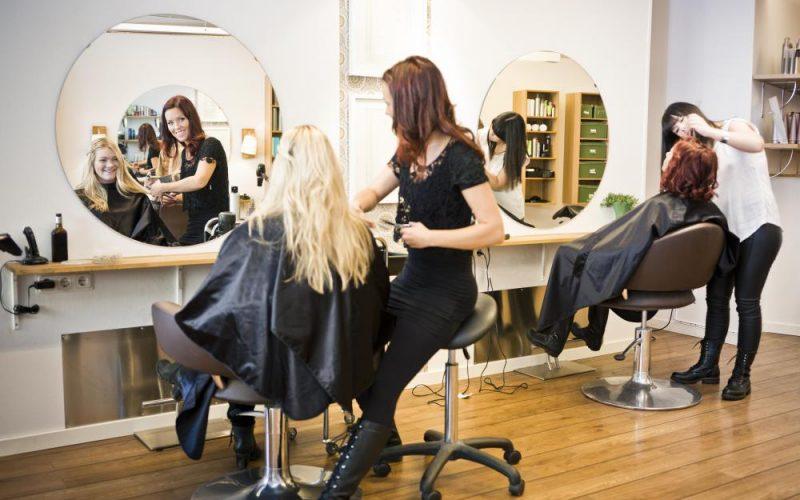Hair Salon with 2 clients | Sparrow Insurance